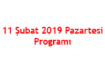 11.02.2019 Programı