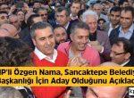 KOZMOPOLİTİK: CHP'li Özgen NAMA, Sancaktepe Belediye Başkanlığı İçin Aday Olduğunu Açıkladı