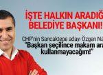 """HABER 3 : CHP'nin Sancaktepe adayı Özgen NAMA: """"Makam aracı kullanmayacağım"""""""