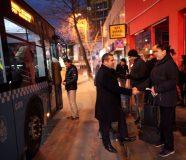 Otobüs Duraklarını Ziyaretimiz